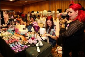 Burlesque Bazaar at the BHoF 2015 Weekender