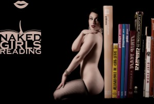 Michelle L'amour, founder of Naked Girls Reading